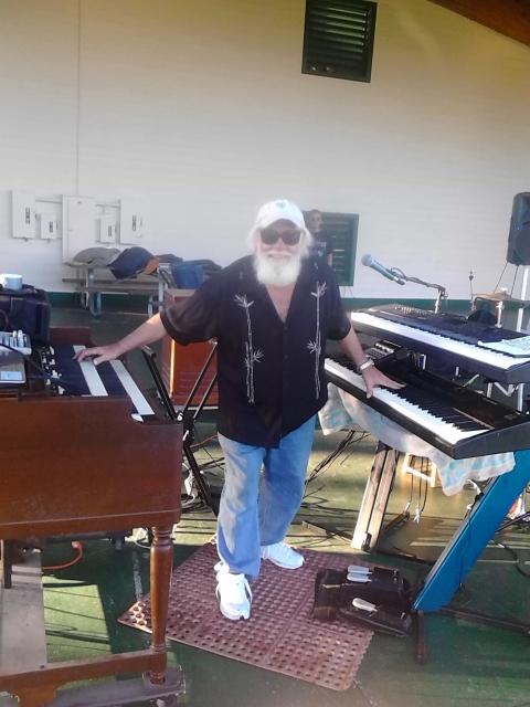 Stevie's full keyboard set up Oct 18th 2014